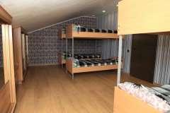 Спальня реабилитационного центра для алкоголиков в Николаеве