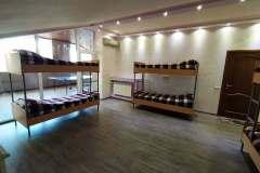Спальня реабилитационного центра для наркоманов в Николаеве